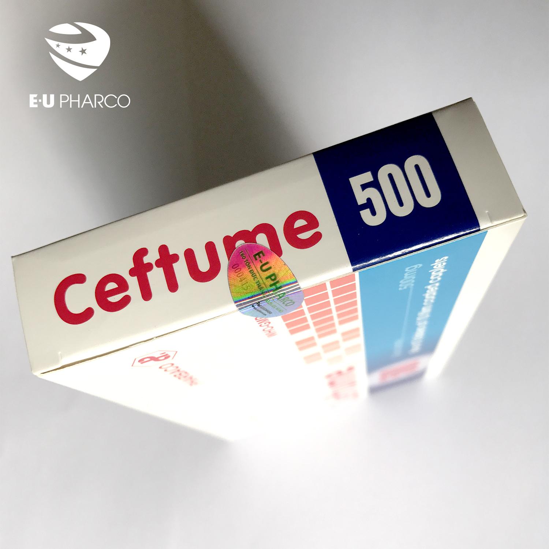 Ceftume 500, tem dán độc quyền