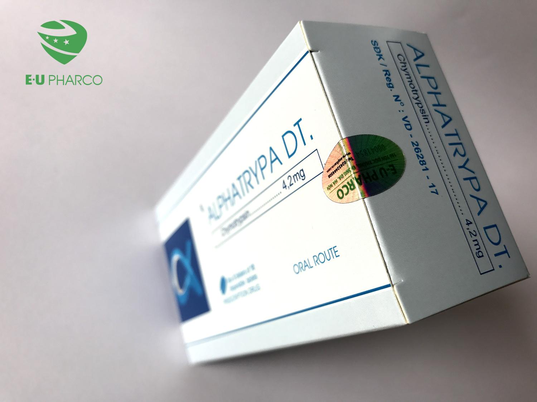 Thuốc Alphachymotrypsin giá bao nhiêu