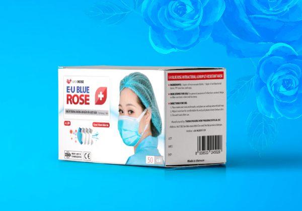 Khẩu trang Rose Mask - Khẩu trang kháng khuẩn và giọt bắn EU KEIRA ROSE